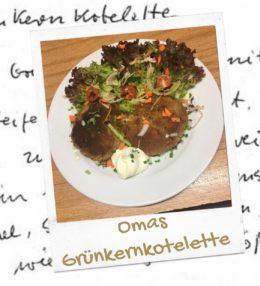 Omas Grünkernkotelette